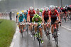 Cannondale and Lotto lead the chase through torrential rain, they might not catch the escape..!