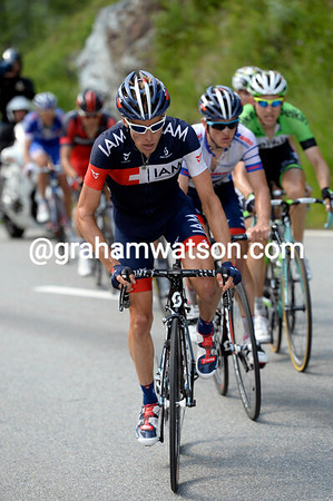 Wyss and Frank smell blood and a chance for IAM to be on the final podium...
