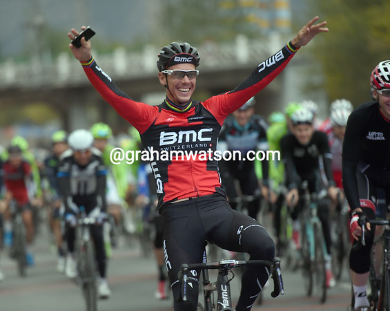 Gilbert just cannot stop celebrating it seems..!