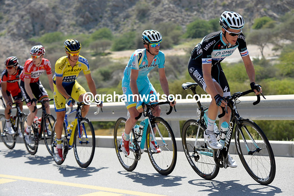 Nini Terpstra leads a five-man escape that emerges after some mighty-fast racing...