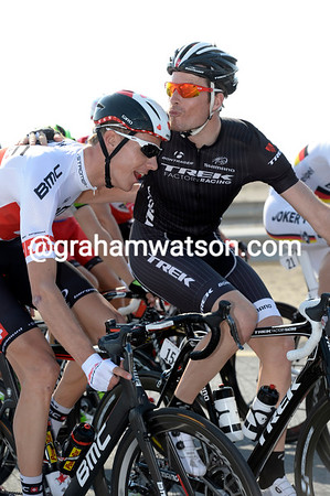 A perfect match - Schar has found his Valentine in the form of Gregory Rast..!