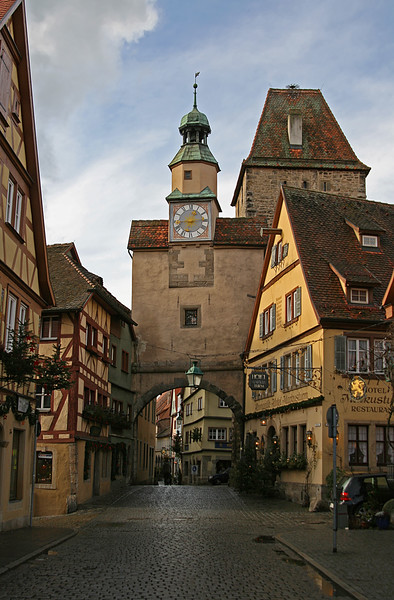 Rothenburg before the storm, Rothenburg Germany