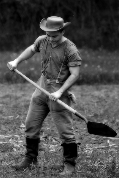 Turn of the century farmer