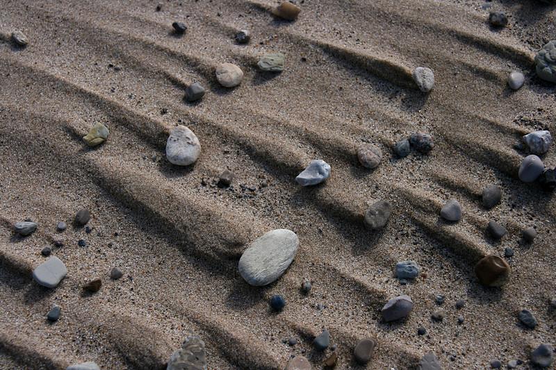 Wind-swept rocks