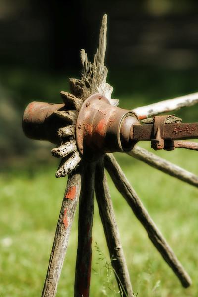 Broken down wheel