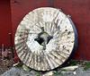 11-27-10-White Horse Mill-millstone