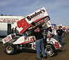 Danny Dietrich checks Wing