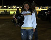 1st-Aaron Ott-Aaron`s girlfriend with helmet after the Win