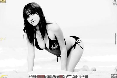 santa monica swimsuit bikini model 1410.bw.bw...