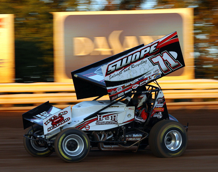 Brian Leppo was third in the feature.