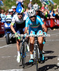 Nibali accelerates on the Cauberg - just Clarke and Martin remain with him...