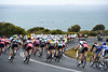 Bells Beach welcomes the peloton as the threat of rain becomes real...