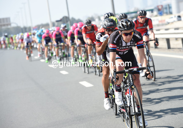 Giant-Alpecin realise the danger and start to chase, just 30-kilometres into the stage...