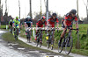 Oss is still chasing for Greg Van Avermaet, but BMC's leader is about to fall heavily into a ditch..!