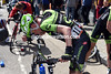 Martin isn't hurt badly, but his body language exposes the frustration at another crash...