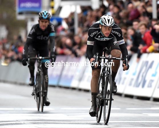 Terpstra beats a frustrated Thomas for the secondary prizes...