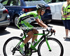 Edoardo Zardini of Bardiani senses the break is too big and takes off on the next climb...