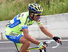 Ivan Basso is also in trouble and way off the back of the peloton...