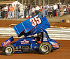 This is the first shot of Justin that I got in the #35 car. 3-20-10 at lincoln Speedway.