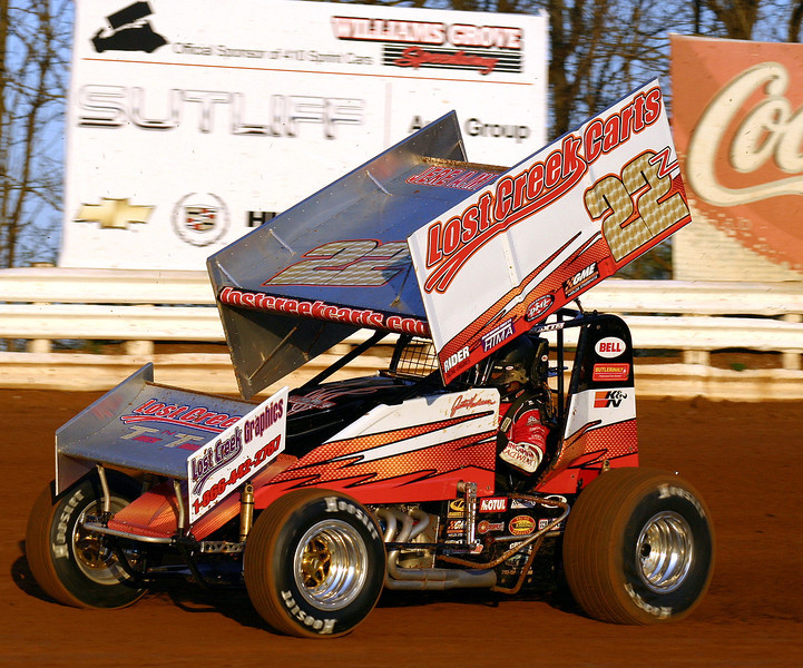This is the first photo I ever took of Justin in action. 4-23-09 at Williams Grove. It is the sharpest photo of him in the 22z that I took..<br /> <br /> Click on Original to see the largest size version.