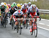Katusha is starting to turn up the pace with the Oude Kwaremont looming...
