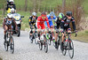 Timmer seems to be the strongest as the escape races towards the Kruisberg in Ronse...