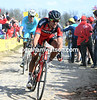 Van Avermaet is chasing at 30-seconds, but he has Lars Boom on his wheel...