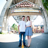 Engagement shoot at Granville Island