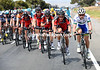 BMC has a helping hand in another Uni SA rider, despite Bobridge being up the road...