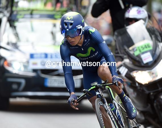 "Nairo Quintana took 57th, 1' 01"" down..."