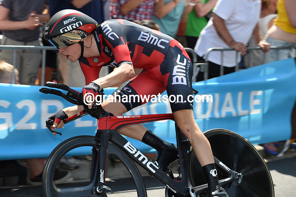Rohan Dennis won the stage one TT at over 55-kilometres-per-hour - a new record for the Tour!