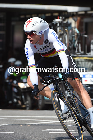 Tony Martin took 2nd place, just five-seconds down on the winner...