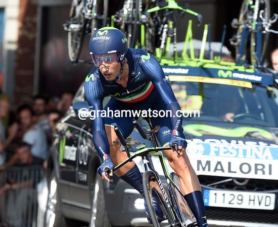 Adriano Malori took 8th place, 29-seconds down...