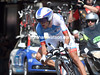 Thibaut Pinot took 18th place, 41-seconds down...