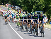Movistar is chasing the escape that has a 13-minute lead...