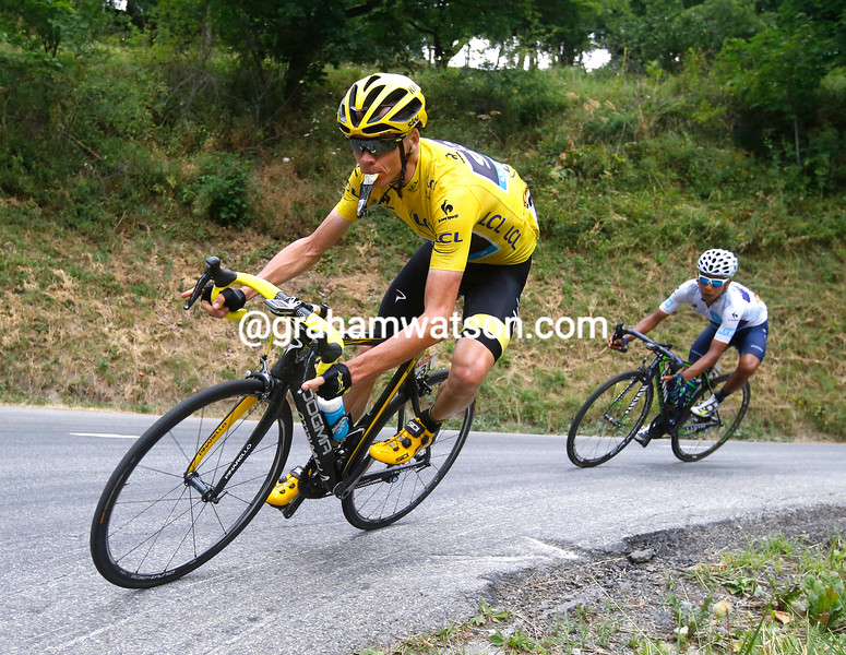 Froome can afford to let Nibali loose, but not by too much...