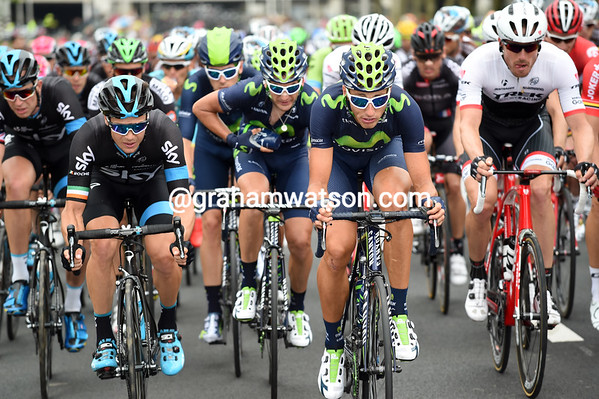 Teams like Sky, Movistar and Trek are positioning themselves for the crosswinds after Rotterdam...