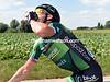 Thomas Voeckler is skulling a can of coke before the chase begins...