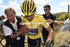 Cancellara doesn't seem hurt, but he won't be startinbg tomnorrow's stage after cracking yet more vertebrae...
