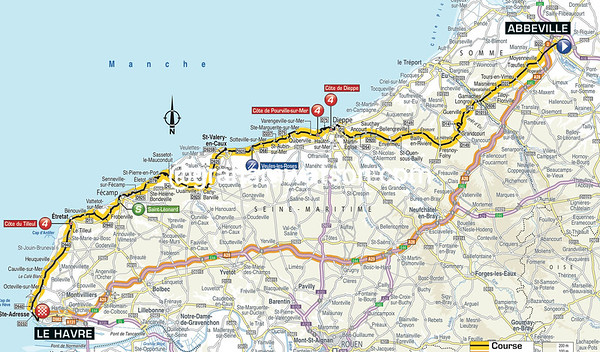 Tour de France Stage 6: Abbeville > Le Havre,191kms