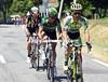 Rafal Majka leads a new escape 80-kilometres into the stage...