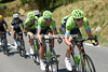 Navardauskas leads a Cannondale-Garmin chase for the next 30-kilometres - the team has its own plans today...