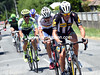 Serge Pauwels leads what is now a five-man escape away...