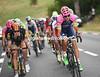 Steven Cummings and Filippo Pozzato are in this big move of 23-riders...