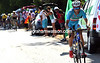 It is Nibali who attacks near the summit of the Col de Manse..!