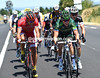 Thomas Voeckler and Luis-Angel Mate lead ten men chasing furiously at one-minute but getting no closer...