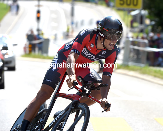 Greg Van Avermaet took 6th place, five-seconds down...