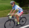 Peter Sagan's points jersey moulds nicely with his Tinkoff colours...