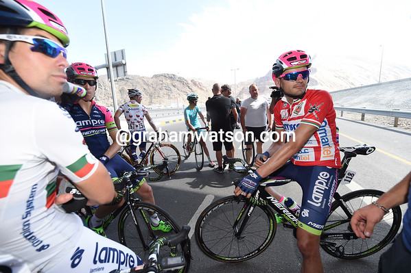 Valls is beginning to realise he might have won the Tour of Oman today...