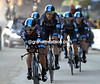 "Team Sky deliberately took it east as they rode into 20th place, 1' 11"" down..."